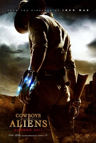 Cowboys and aliens poster 535x791