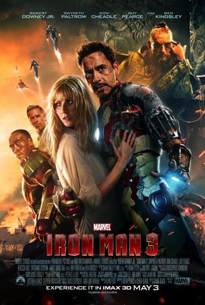Iron Man 3 IMAX poster1
